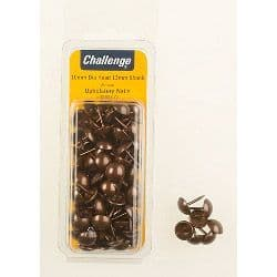 Challenge Upholstery Nails - Antique (Folding Clam Pack) - 10mm Hd